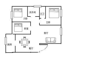 东环新城  3室2厅1卫    76.0万