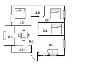 家园小区中心医院居家大三房中低层南北通透零公摊