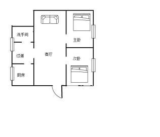 人民中路  2室2厅1卫    38.0万