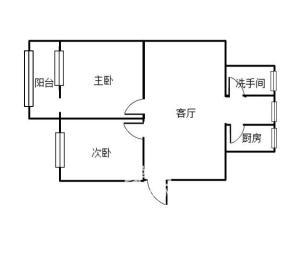 株洲大桥 沿江风光带 天元超市附近 步梯3楼 精装2房