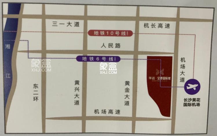 华远金科空港国际城效果图