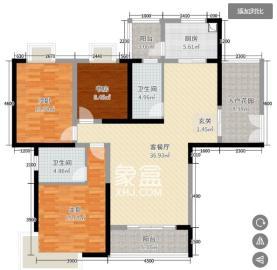 瑪麗的花園(金色陽光家園)  4室2廳1衛    900.0元/月