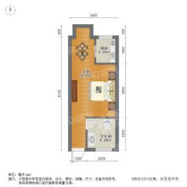 中国铁建瑞园  1室0厅1卫    65.0万