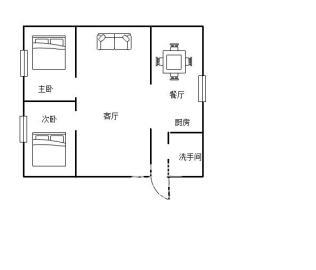 邮政二村  2室2厅2卫    55.0万