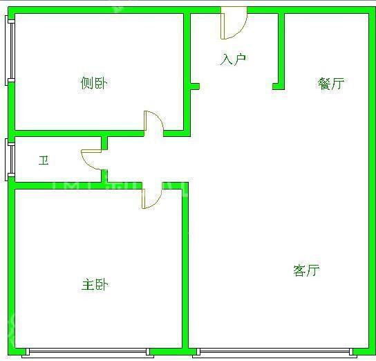 南湖国际3期  2室1厅1卫    132.0万