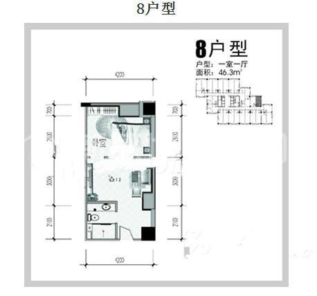 弘林国际户型图