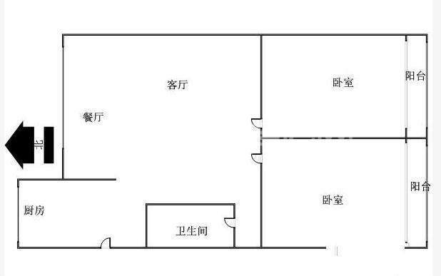 广厦新村户型图