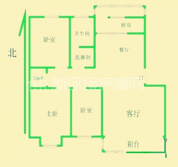 中石化西南石油局单位房户型图