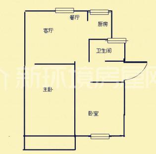 铝厂宿舍户型图