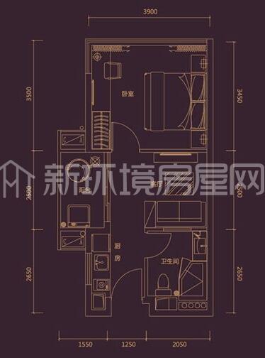 德思勤(宝格丽公寓)户型图